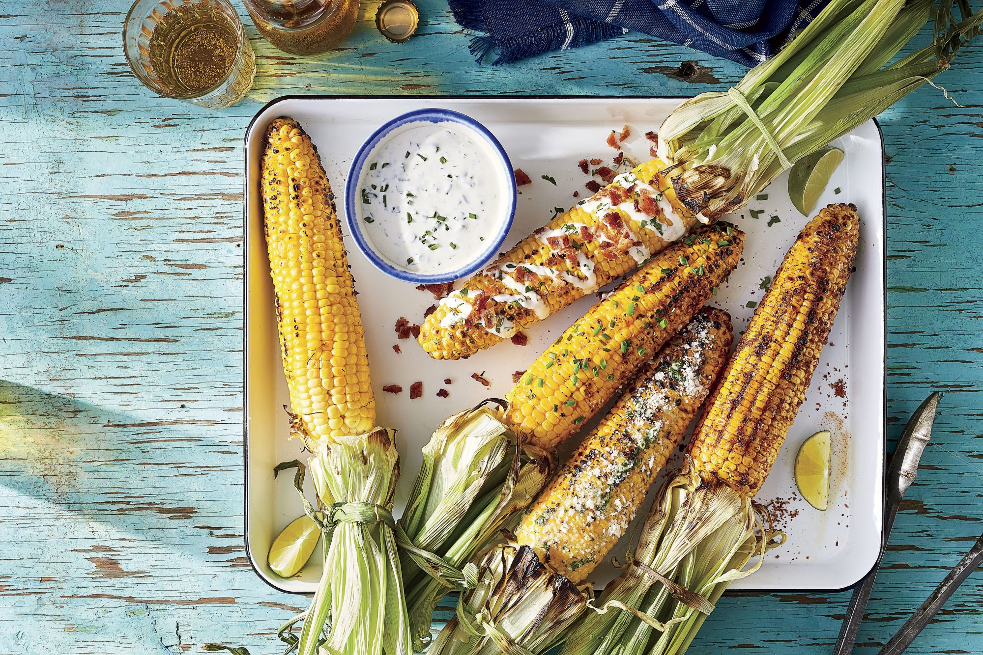 Classic Grilled Corn on the Cob Adam Hickman
