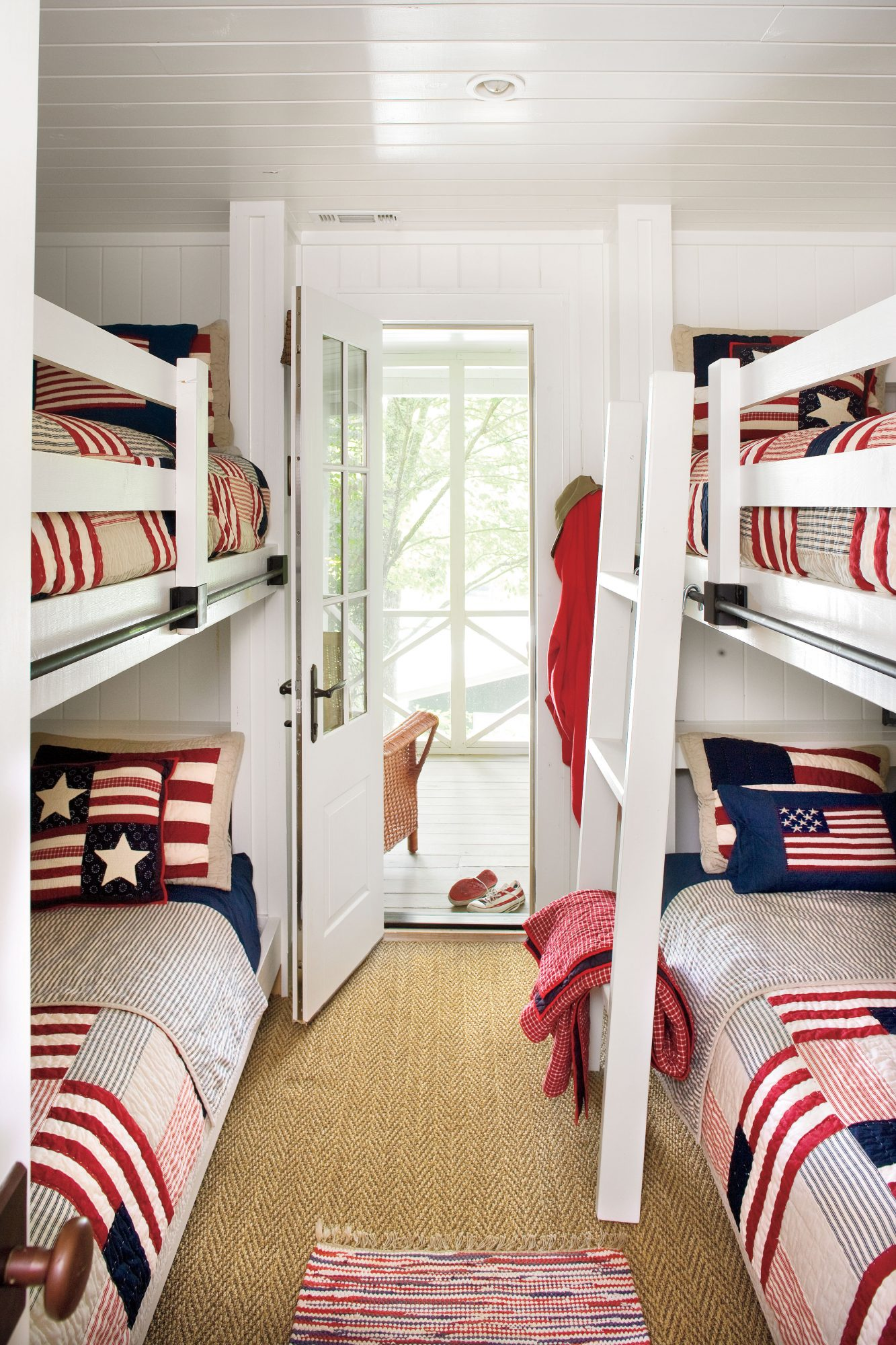 Lakeside Cabin Makeover: Bunk Room