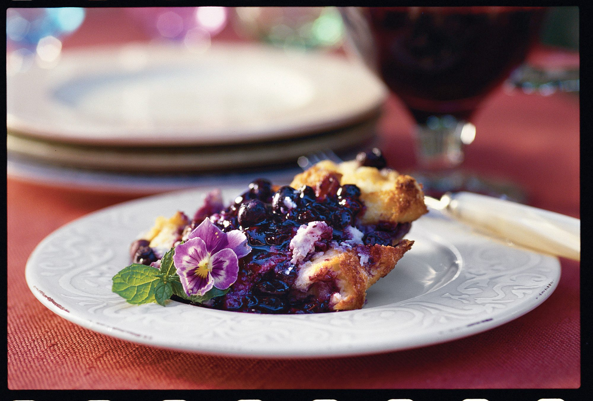 Fresh Blueberry Recipes: Blueberry Bread Pudding
