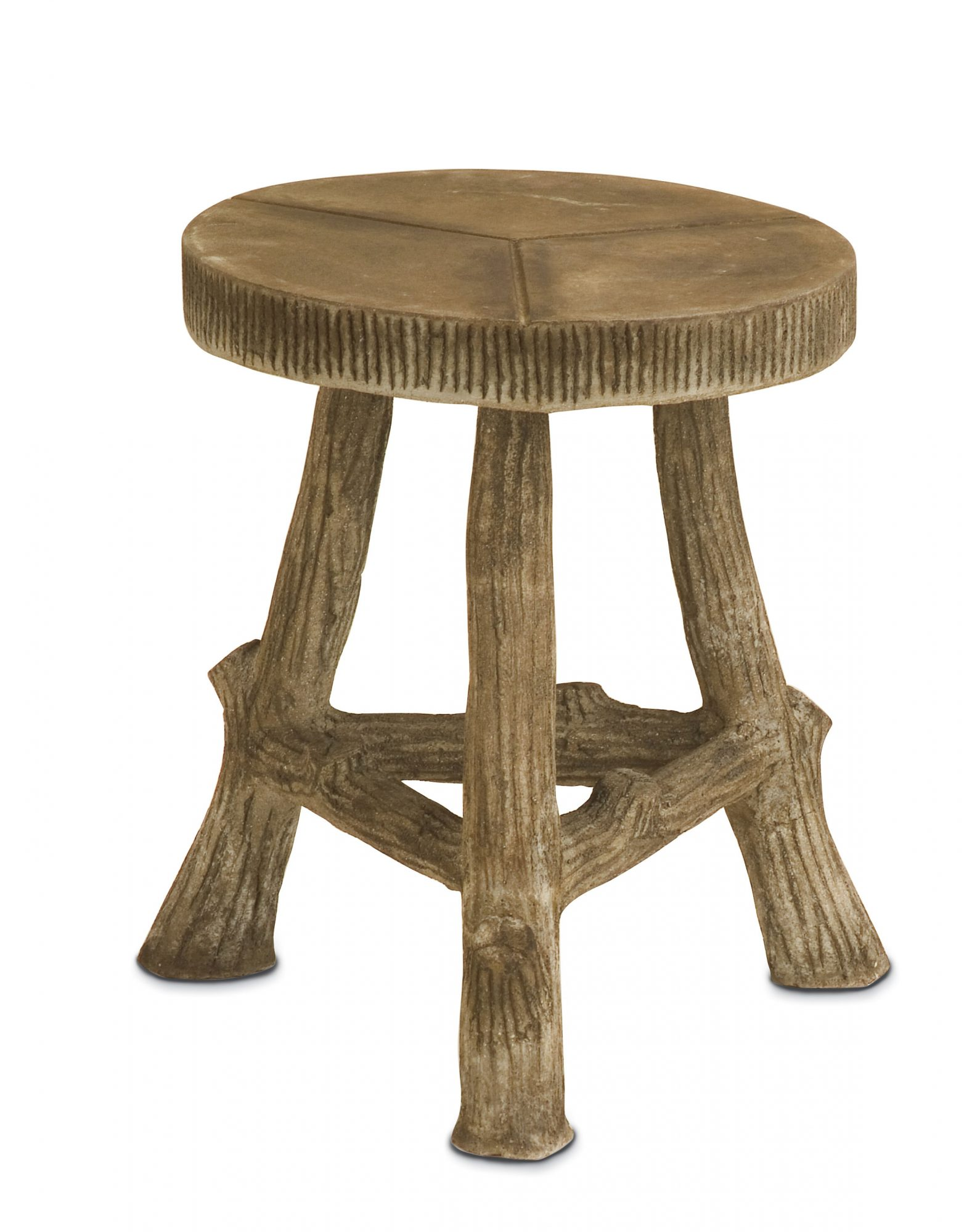 Cabin and Cottage Decorating Accessories: Woodland Three-Leg Stool