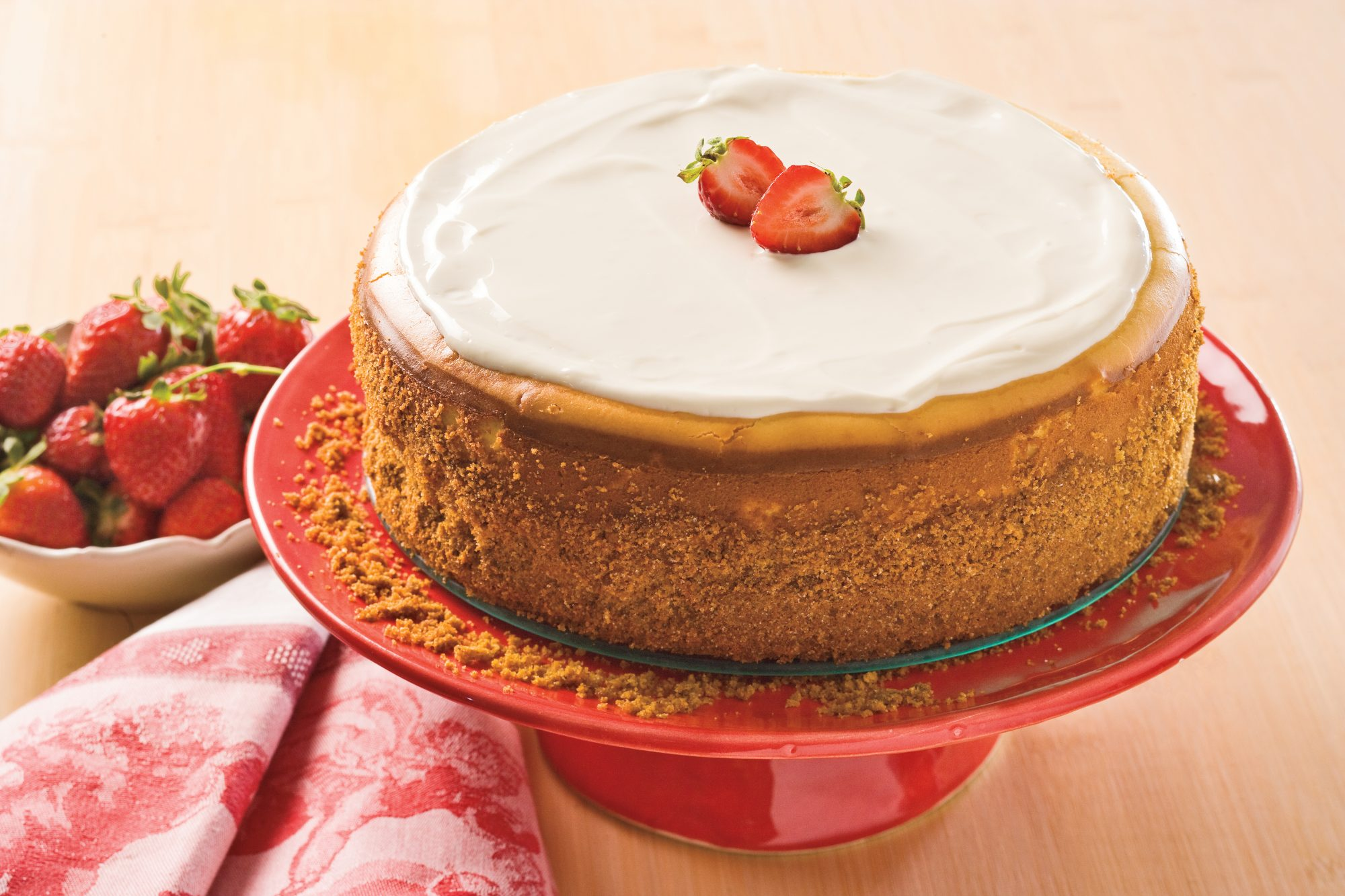 Cooking & Baking Tips: Smooth-Top Cheesecake