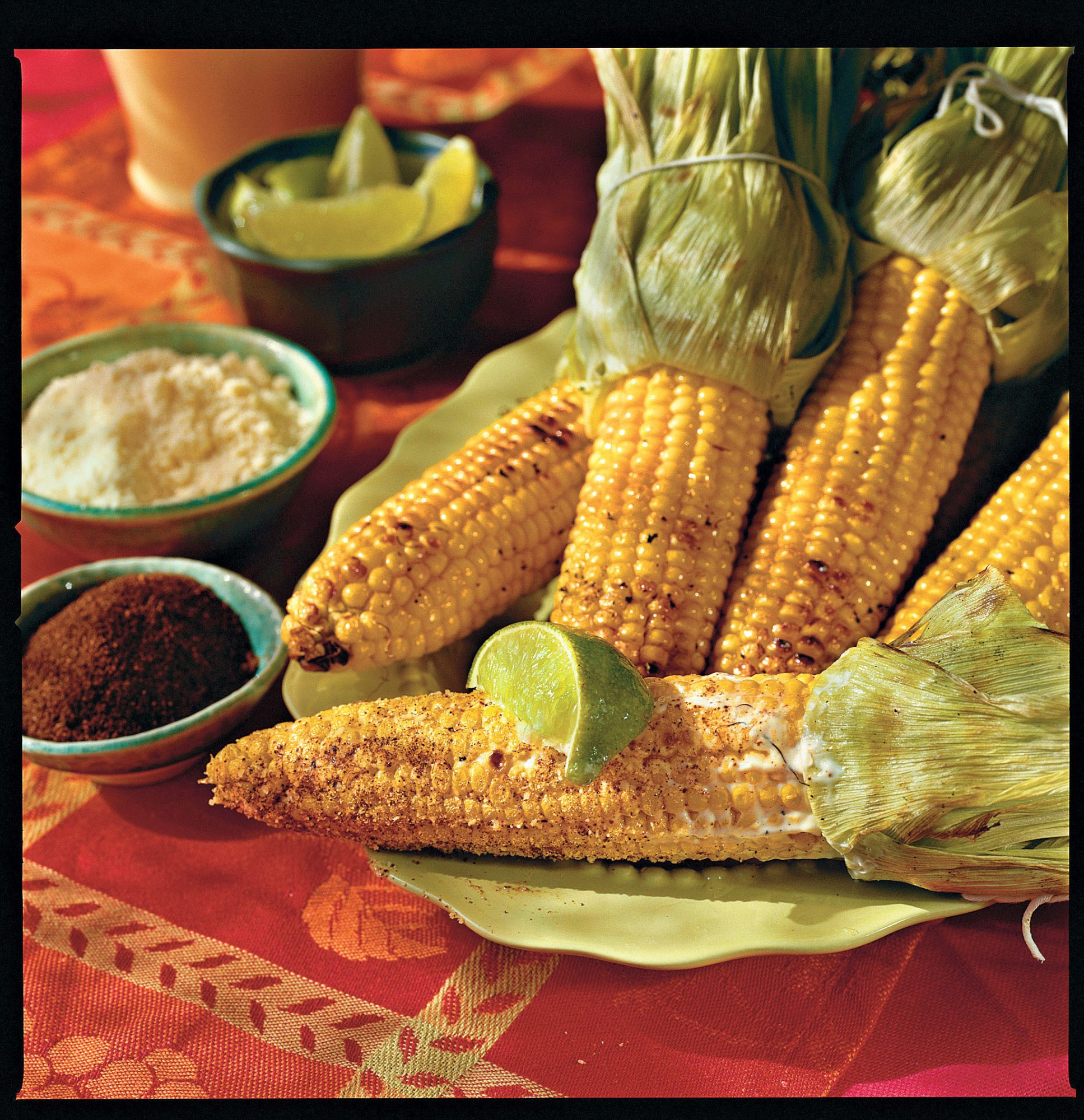 Father's Day Recipe Ideas: Grilled Corn in the Style of Oaxaca