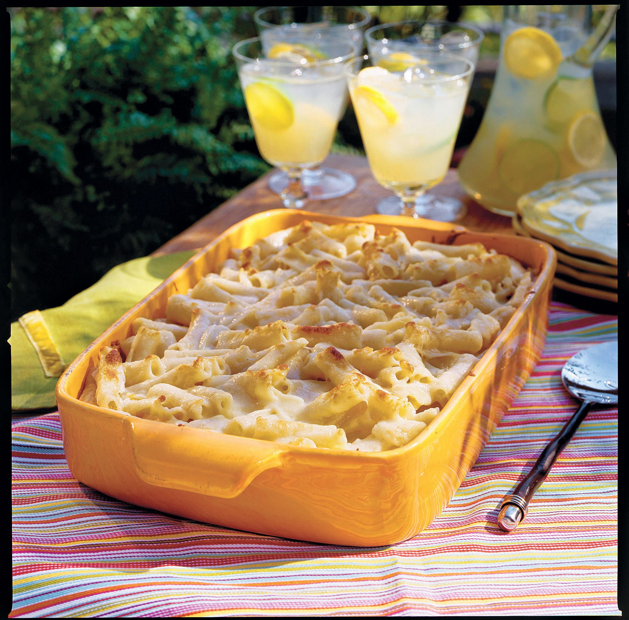 Three-Cheese Baked Pasta