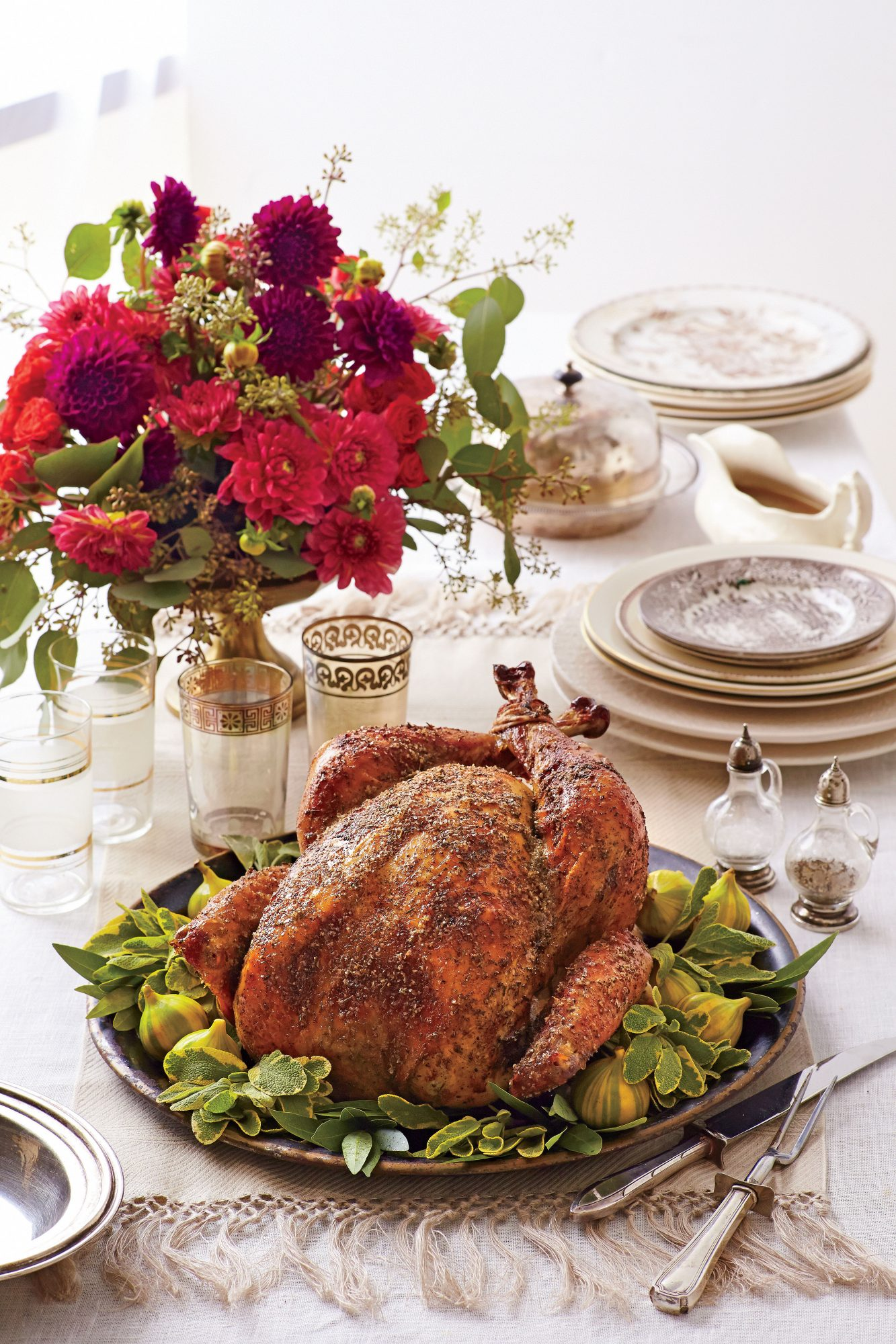 Dry Brined-Herb Roasted Turkey Recipe