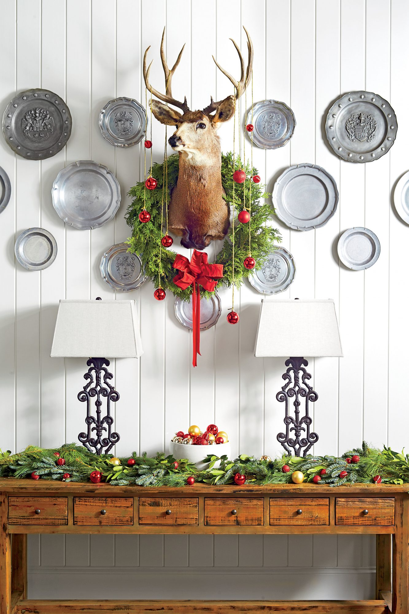 Dapper Deer Wreath