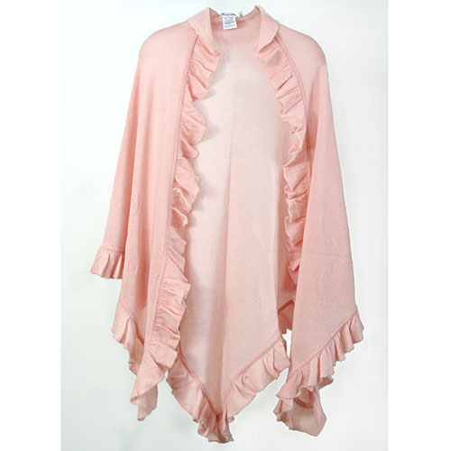 Minnie Rose Ruffle Shawl
