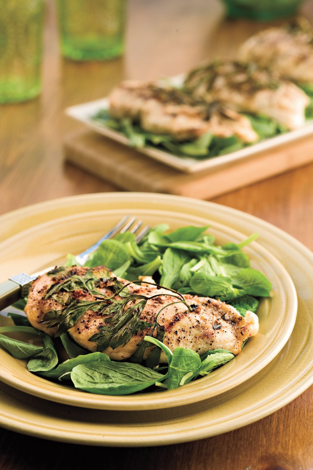 Herb-Grilled Chicken