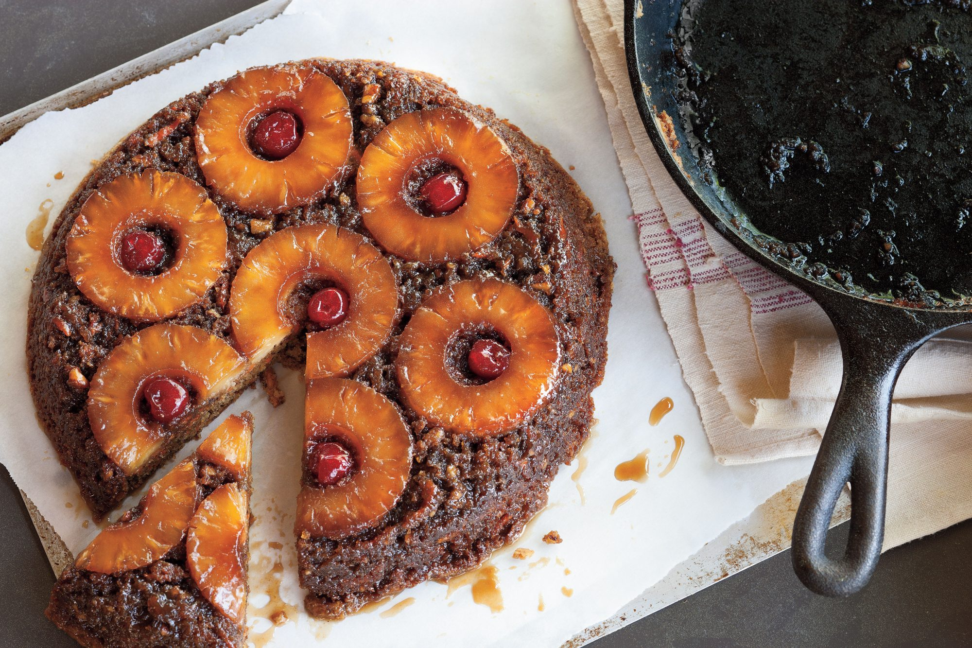 Pineapple Upside-Down Carrot Cake Recipe
