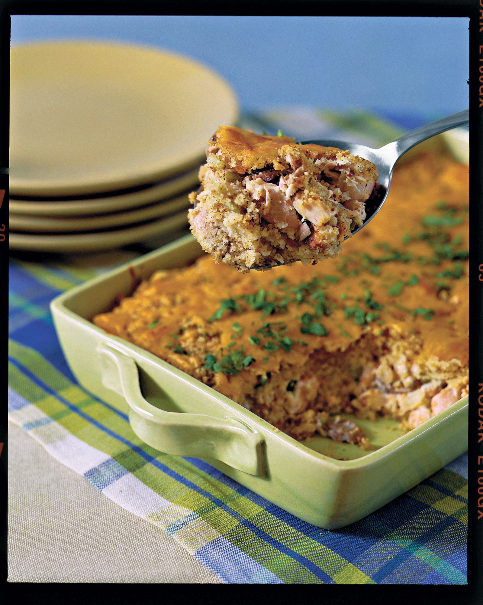 Chicken and Cornbread Casserole Recipes
