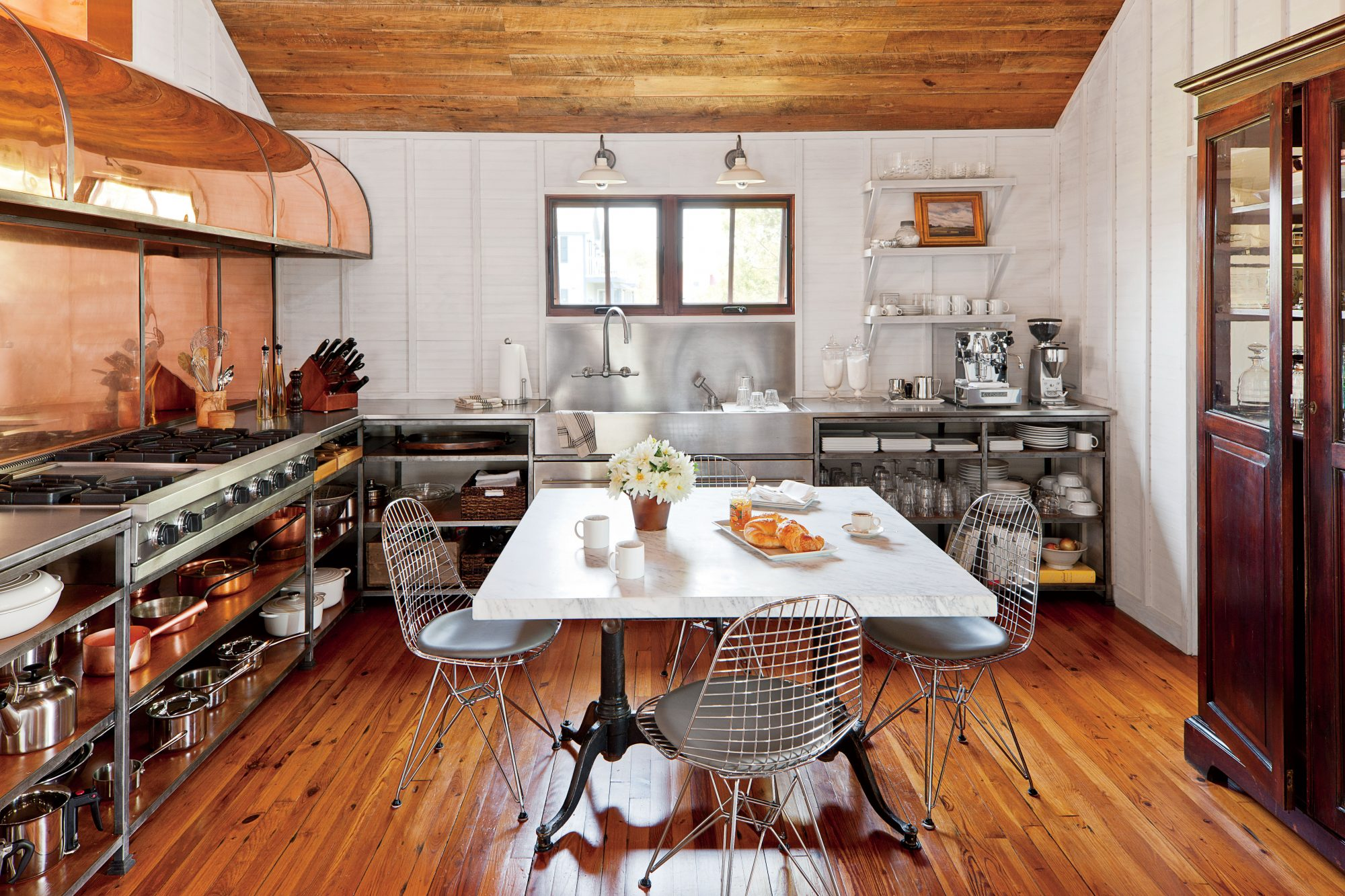 Rustic Copper Kitchen