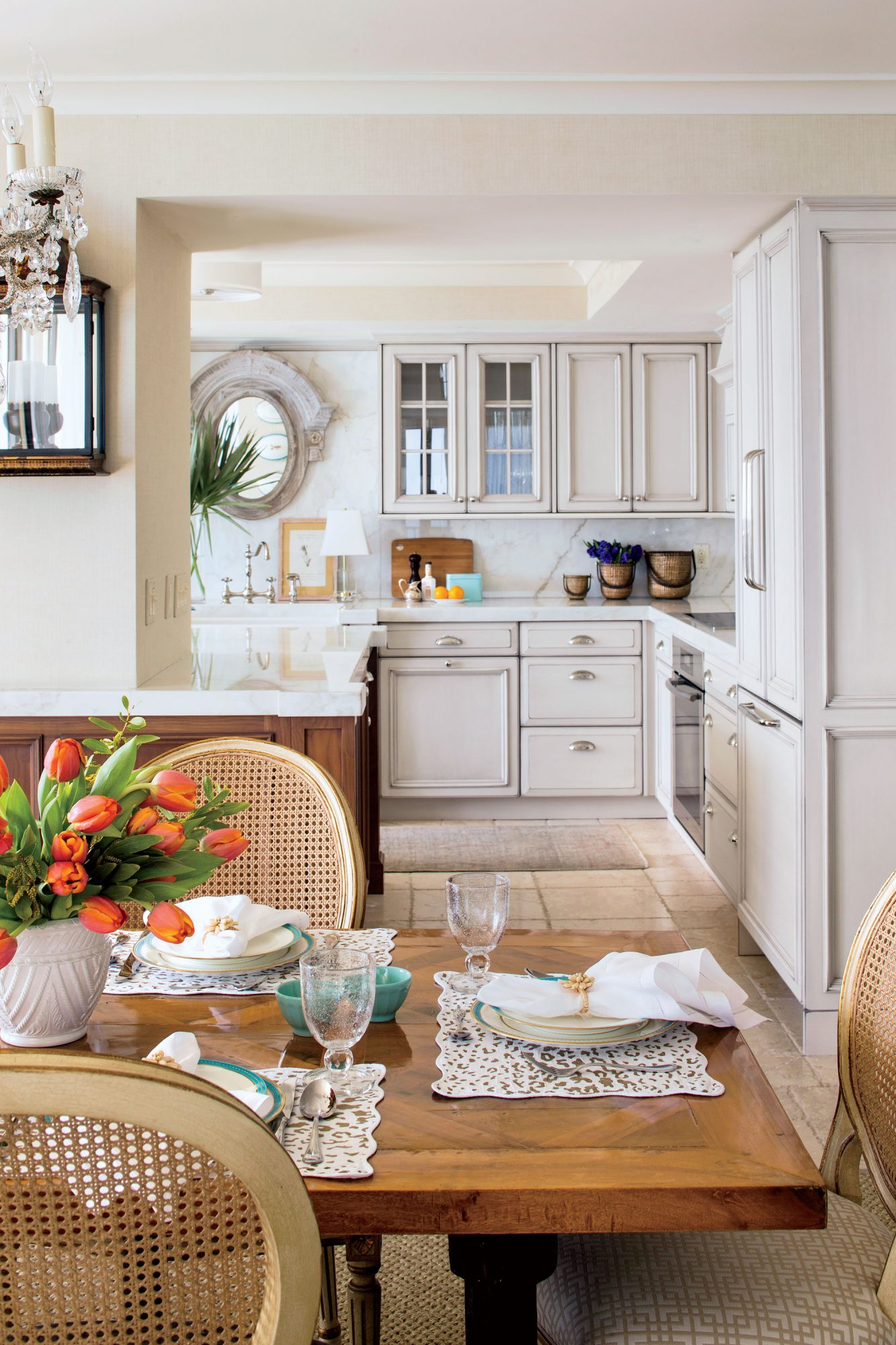 Coastal Open Kitchen