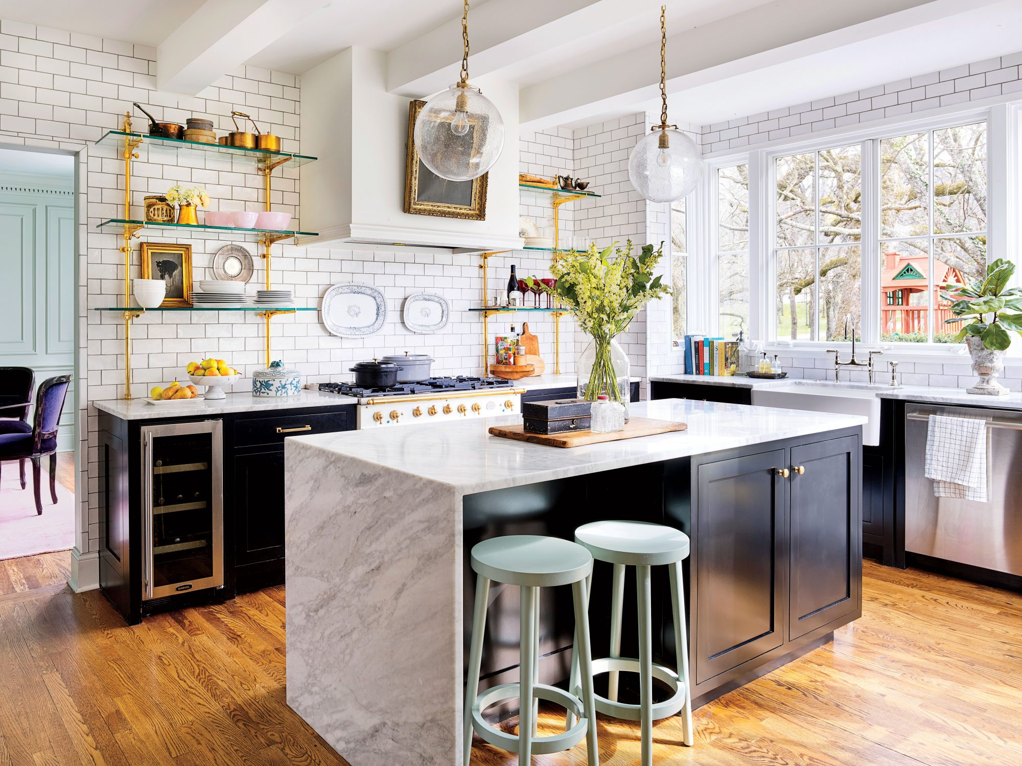 Glass Kitchen Light Fixtures