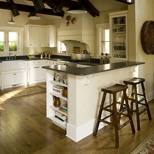 North Carolina Cottage Interiors: Kitchen
