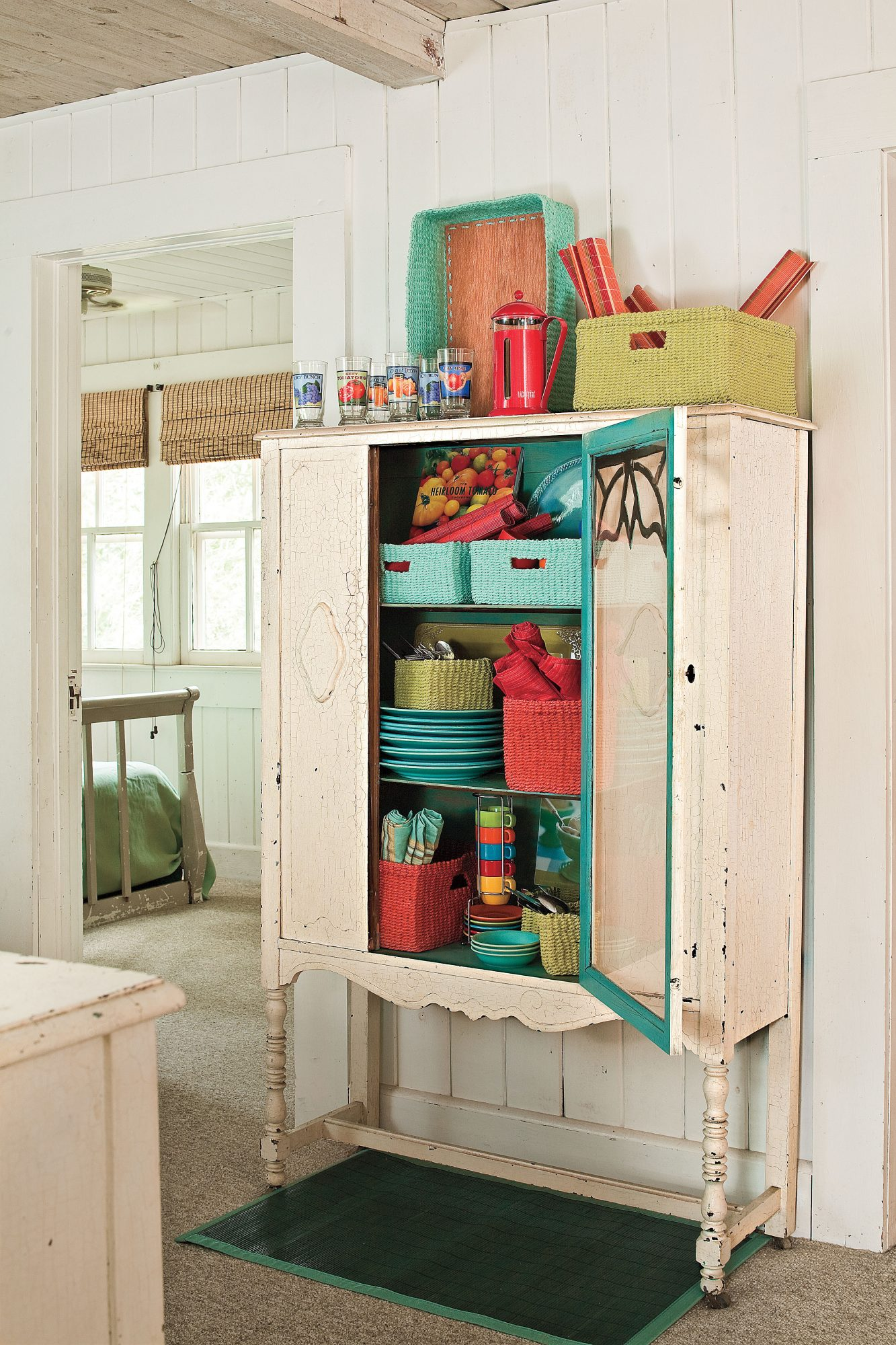 Add Vintage Storage Space