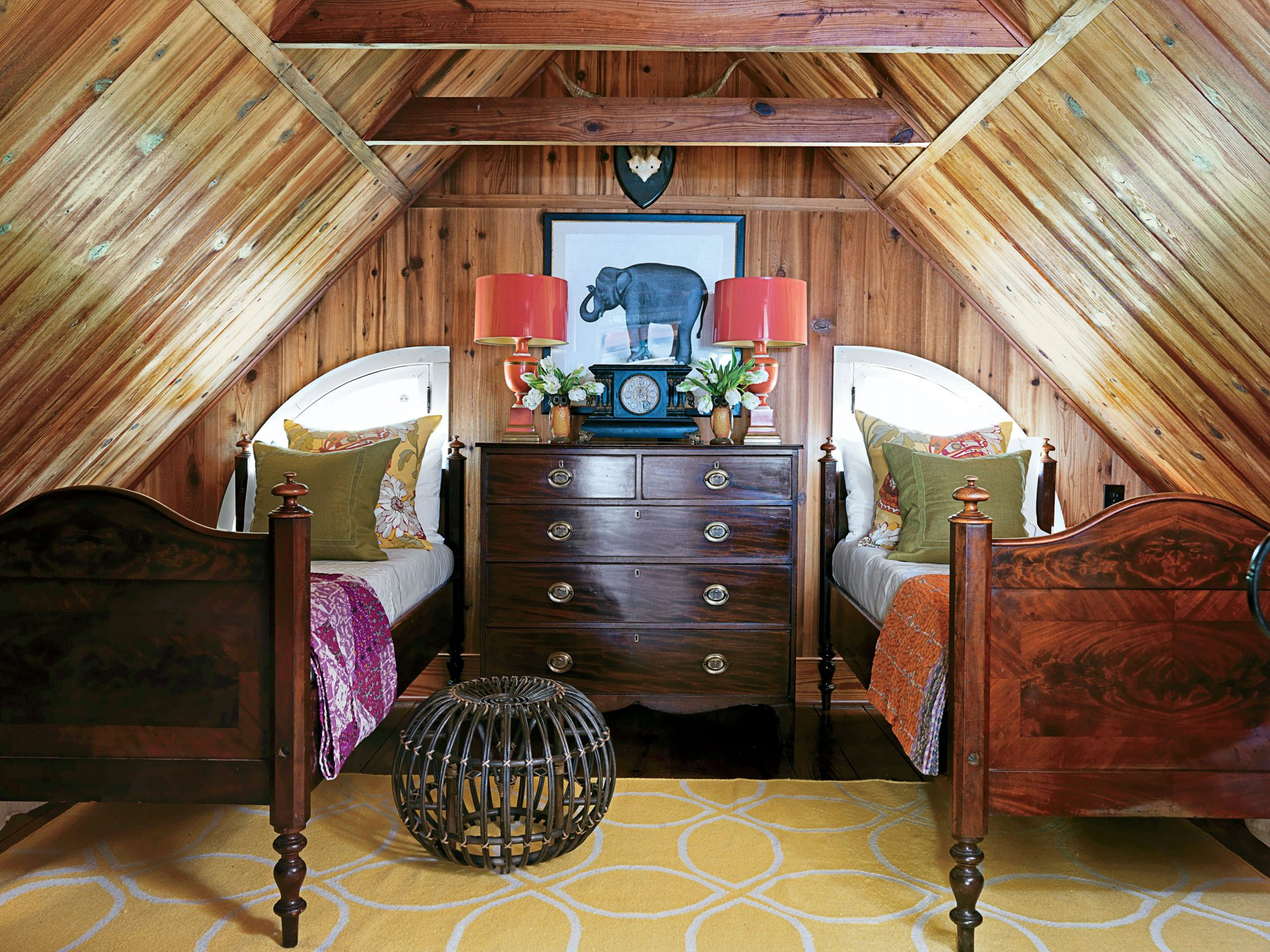 Guest Room with Global Style