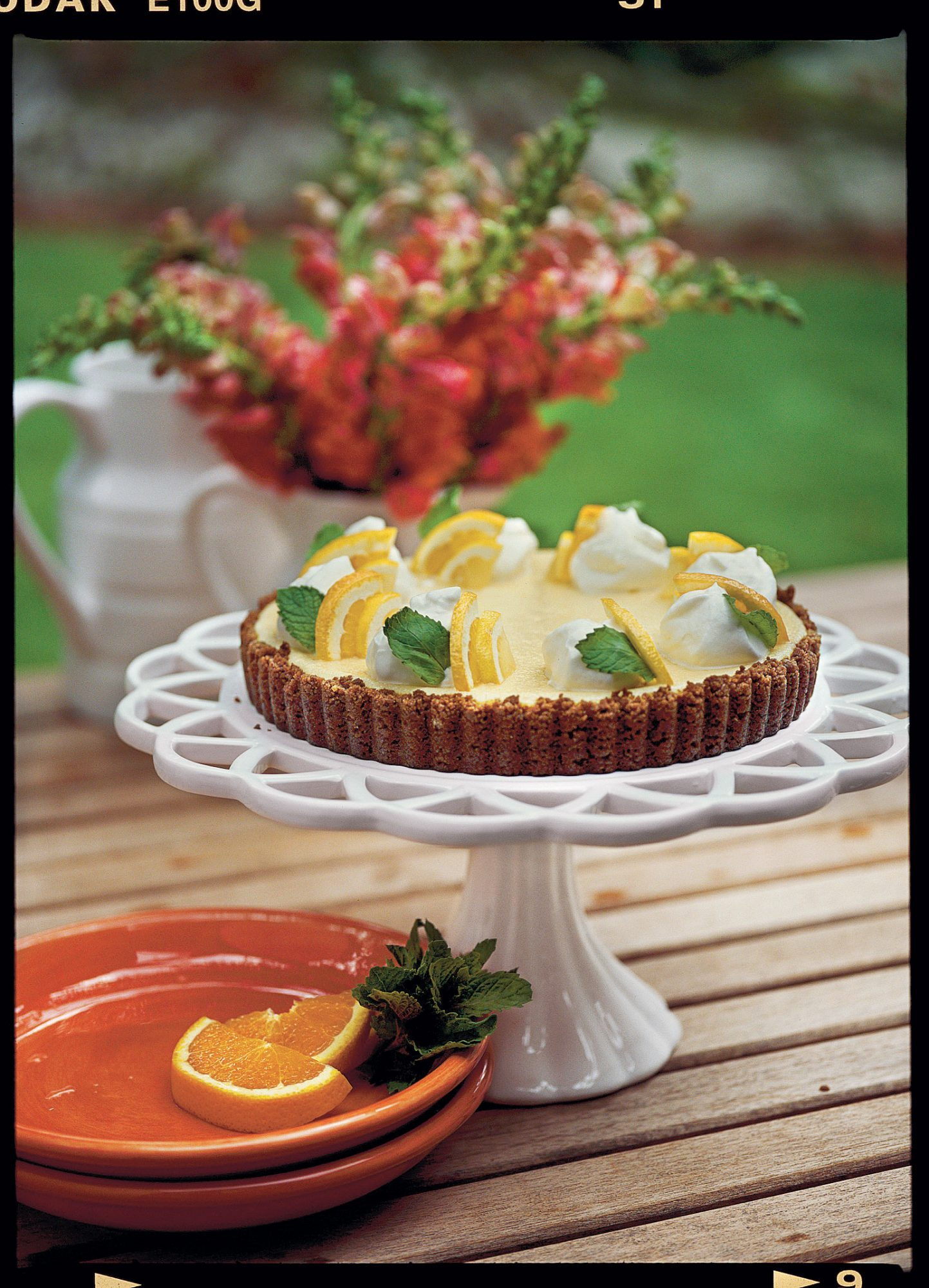 Double Citrus Tart Recipe