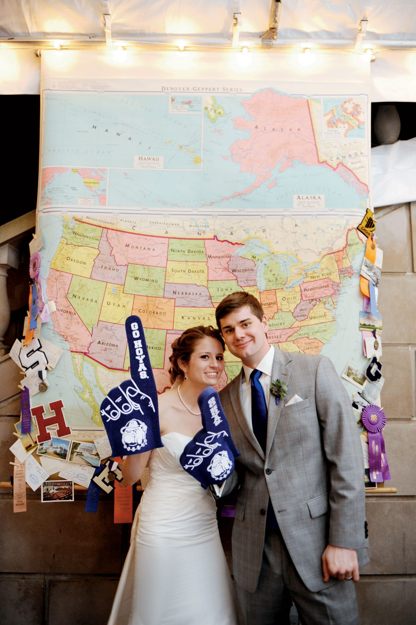 Collegiate Wedding Paraphernalia