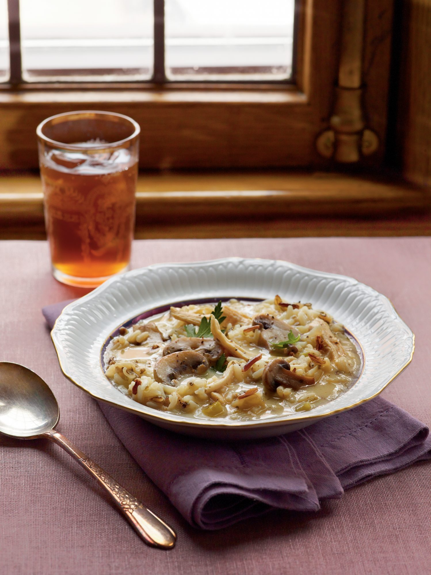 Chicken, Mushroom, and Wild Rice Soup