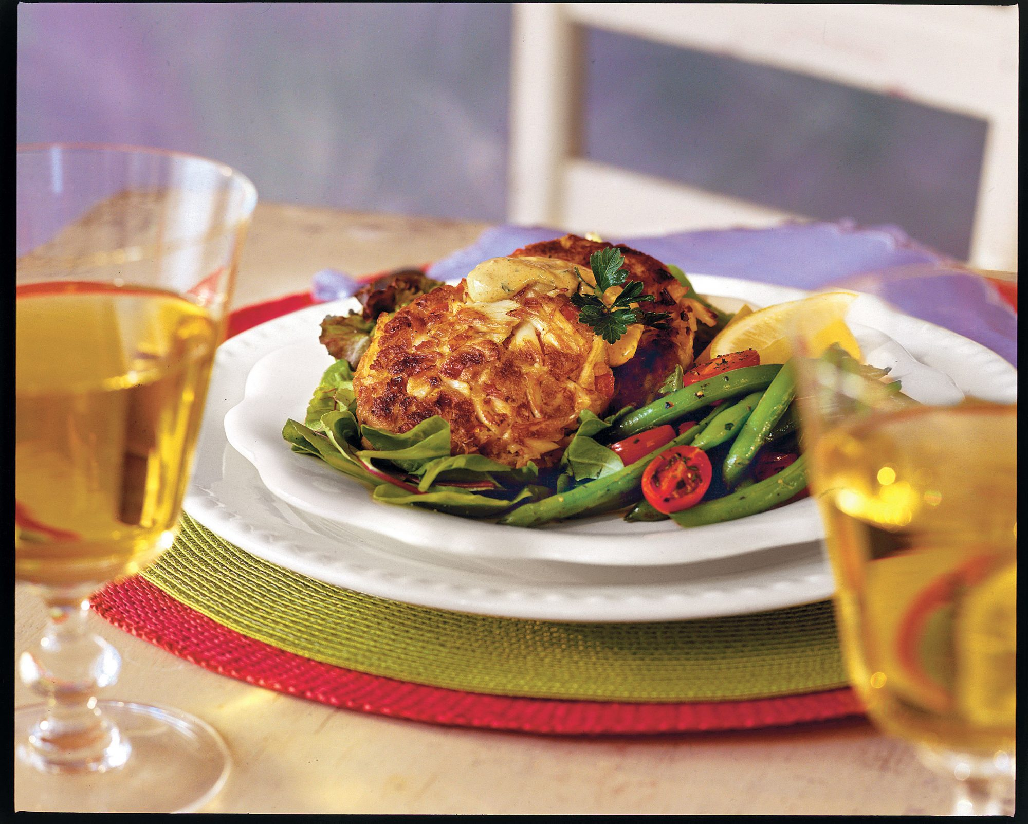 Crab Cakes With Lemon Rémoulade