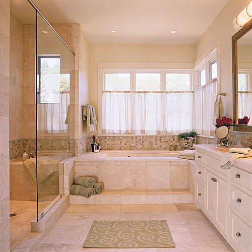 Soothing Master Bathroom