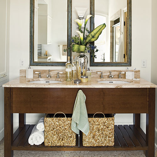 Organized Master Bathroom