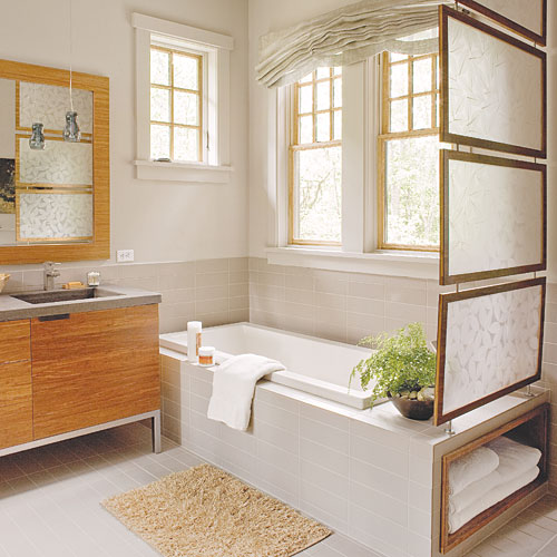 Natural Master Bathroom