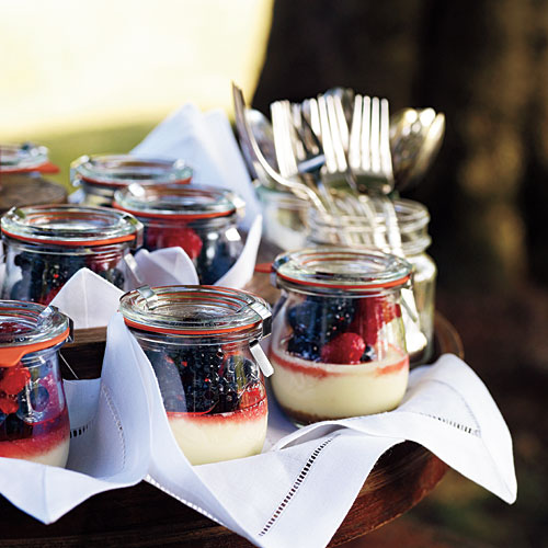 Goat Cheese Cheesecakes