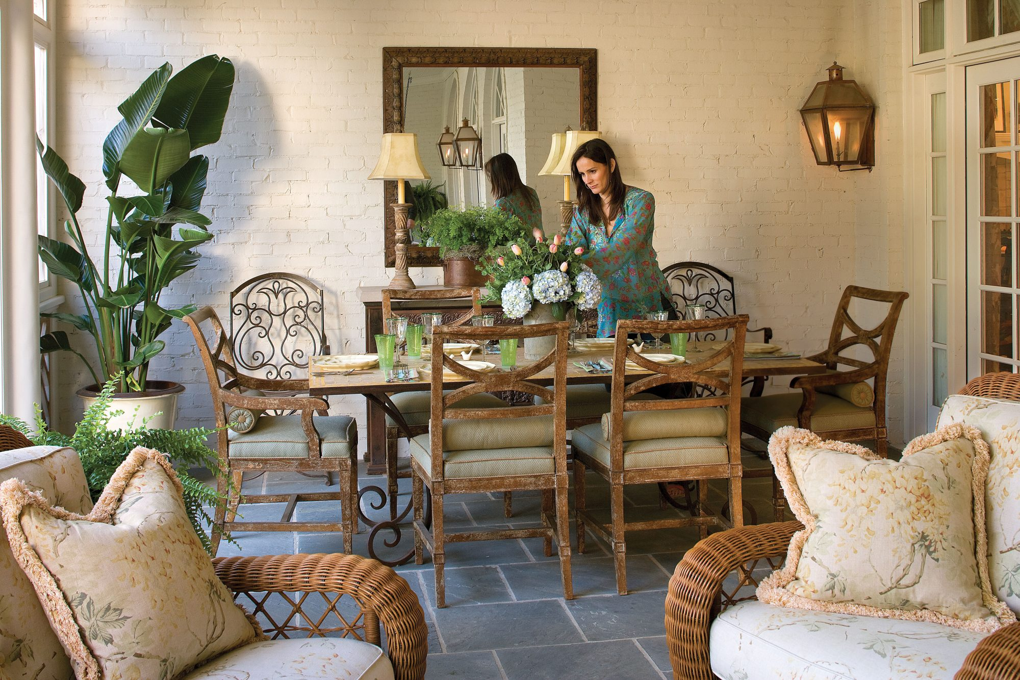 Screened Porch With Style
