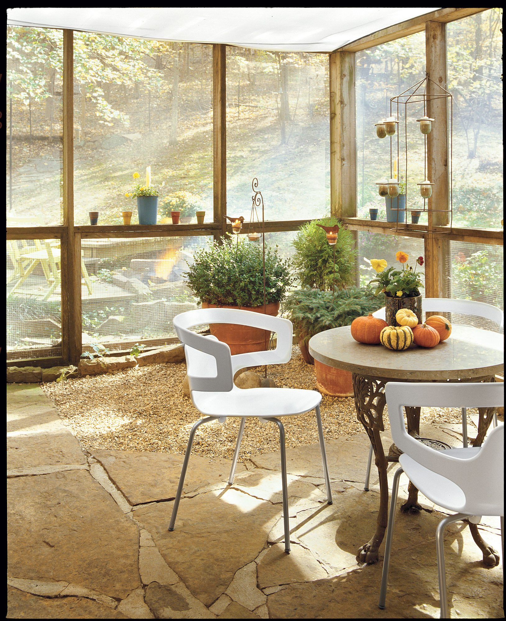 Natural Screened Porch