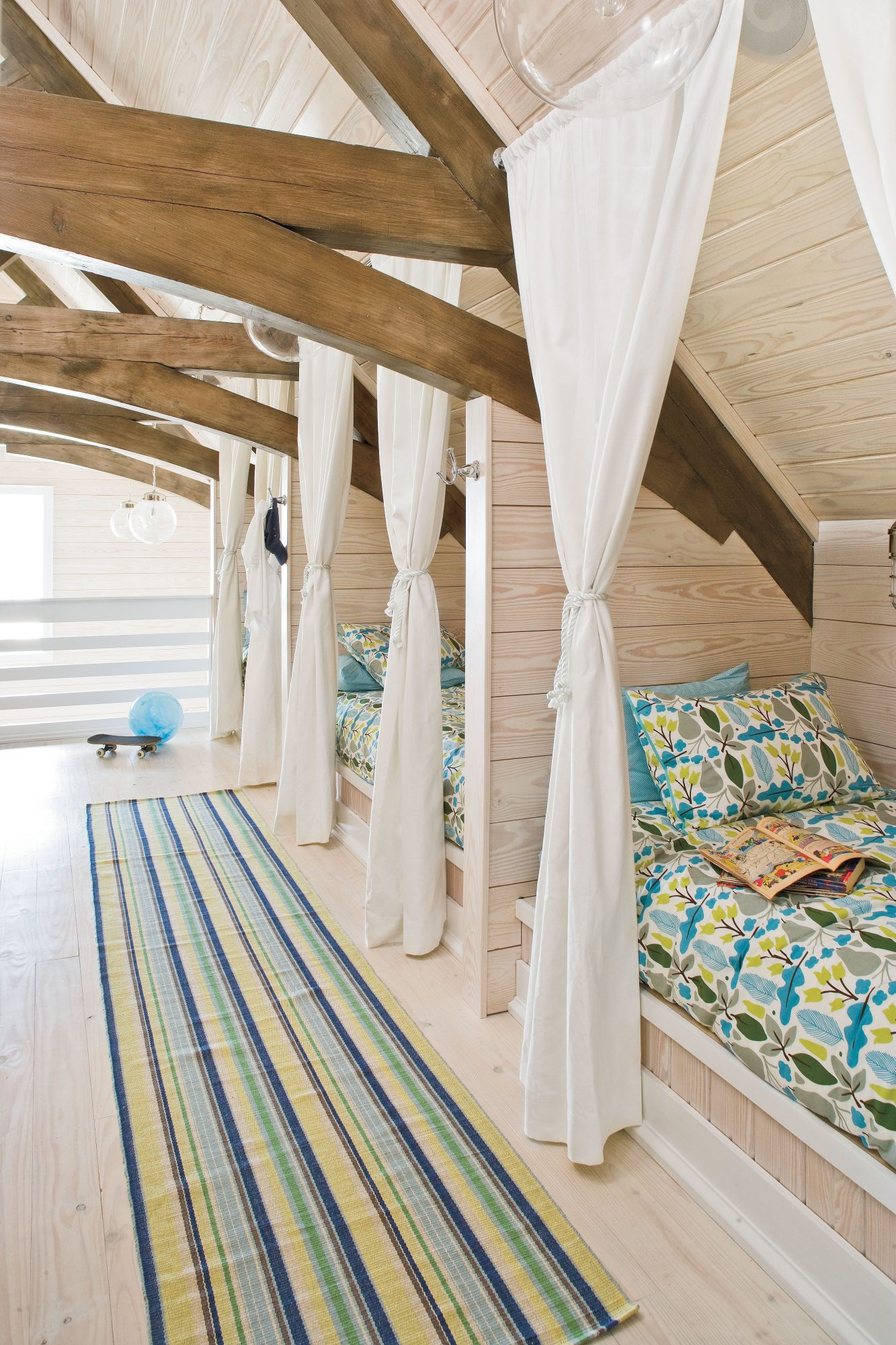 Coastal Bunk Room
