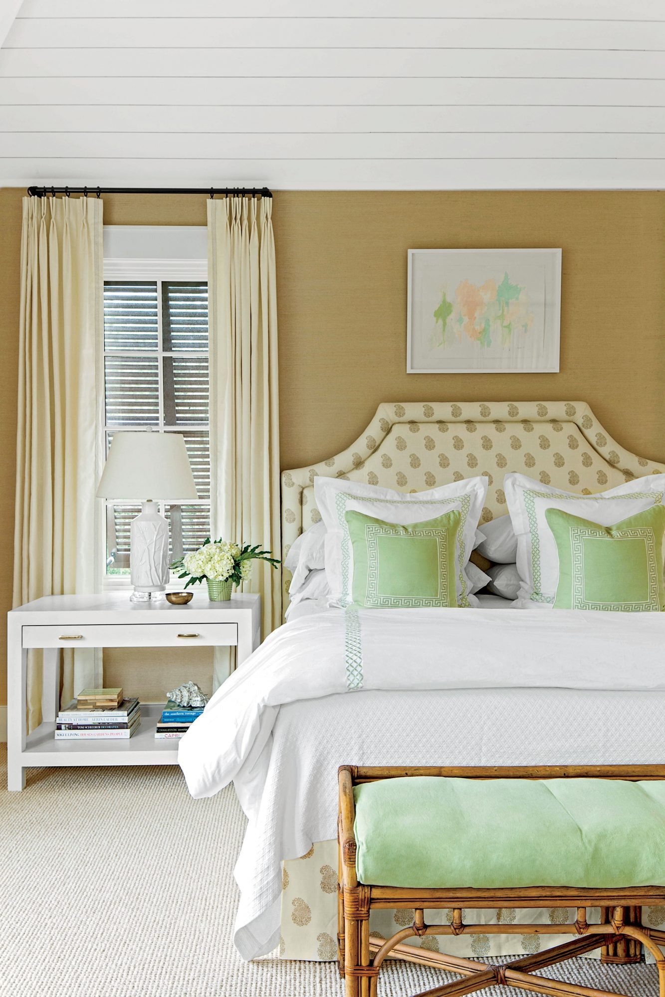 Kiawah Island Home Master Bedroom