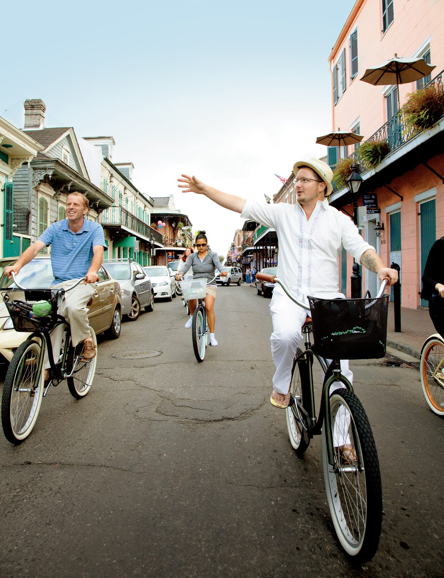 New Orleans Culinary Bike Tour