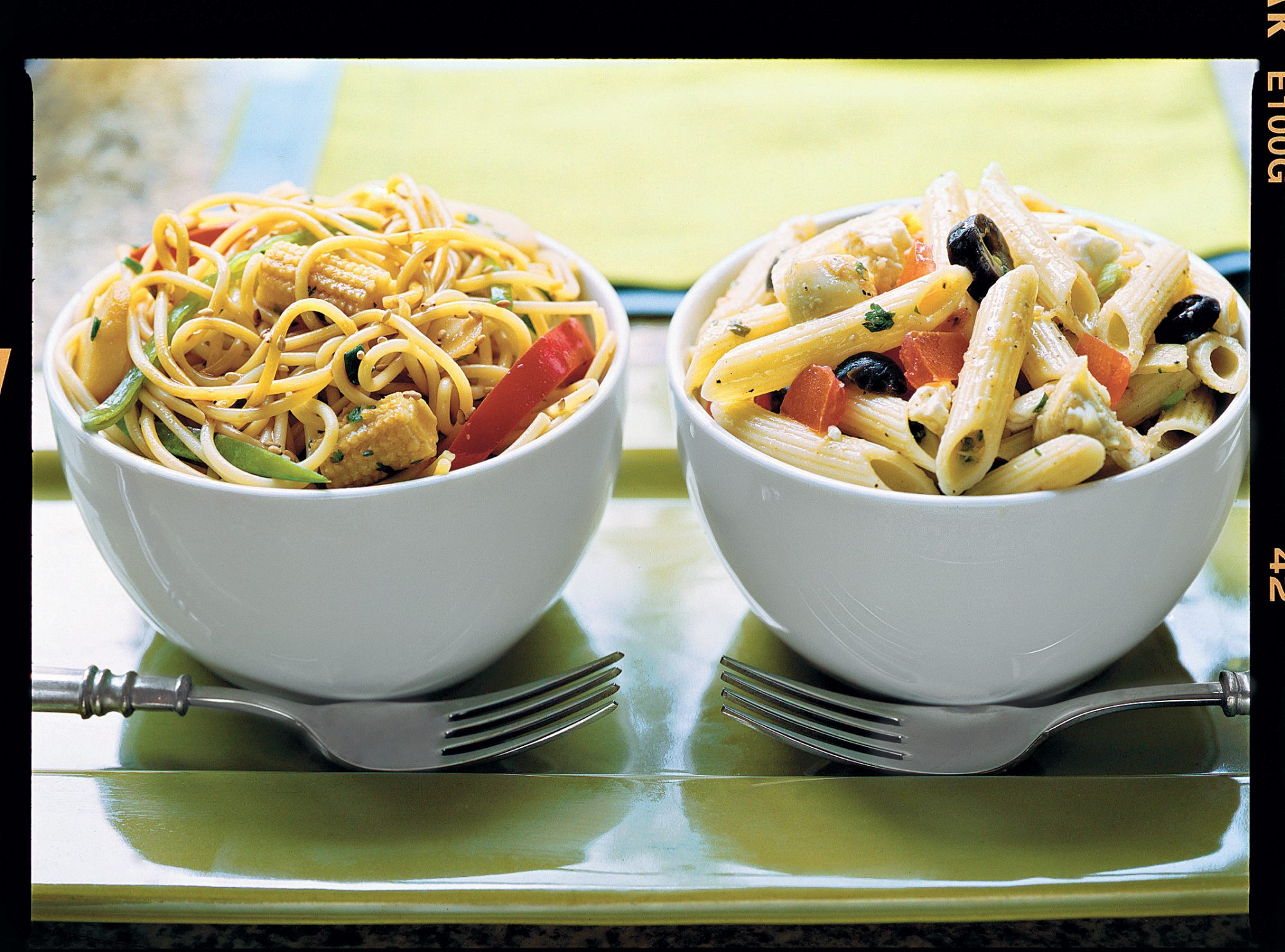 Easy Pasta Recipes: Sweet-Hot Asian Noodle Bowl