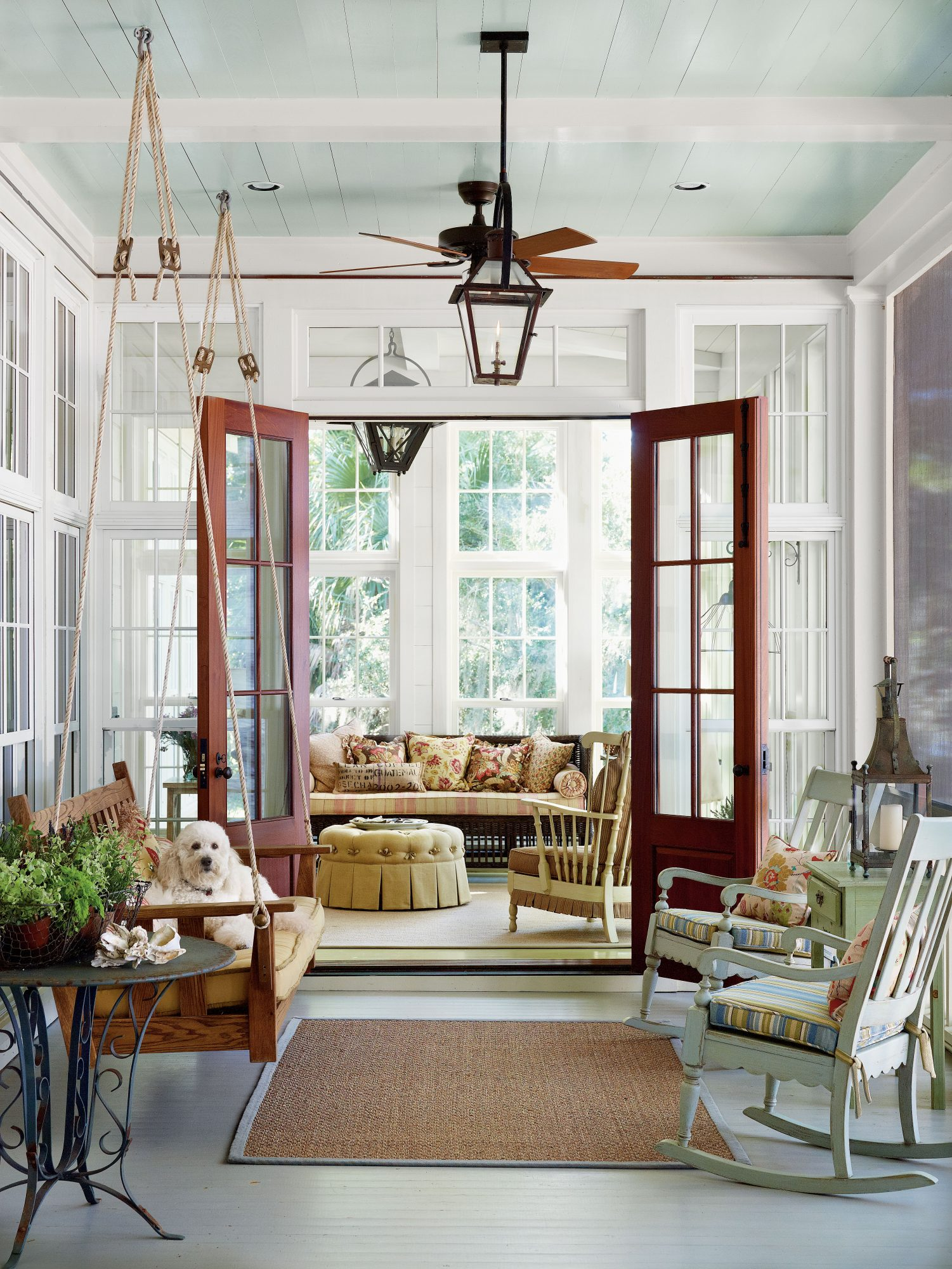 Cozy Enclosed Porch