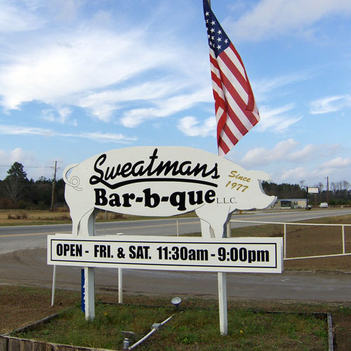 Sweatman's Bar-B-Que, Holly Hill, SC