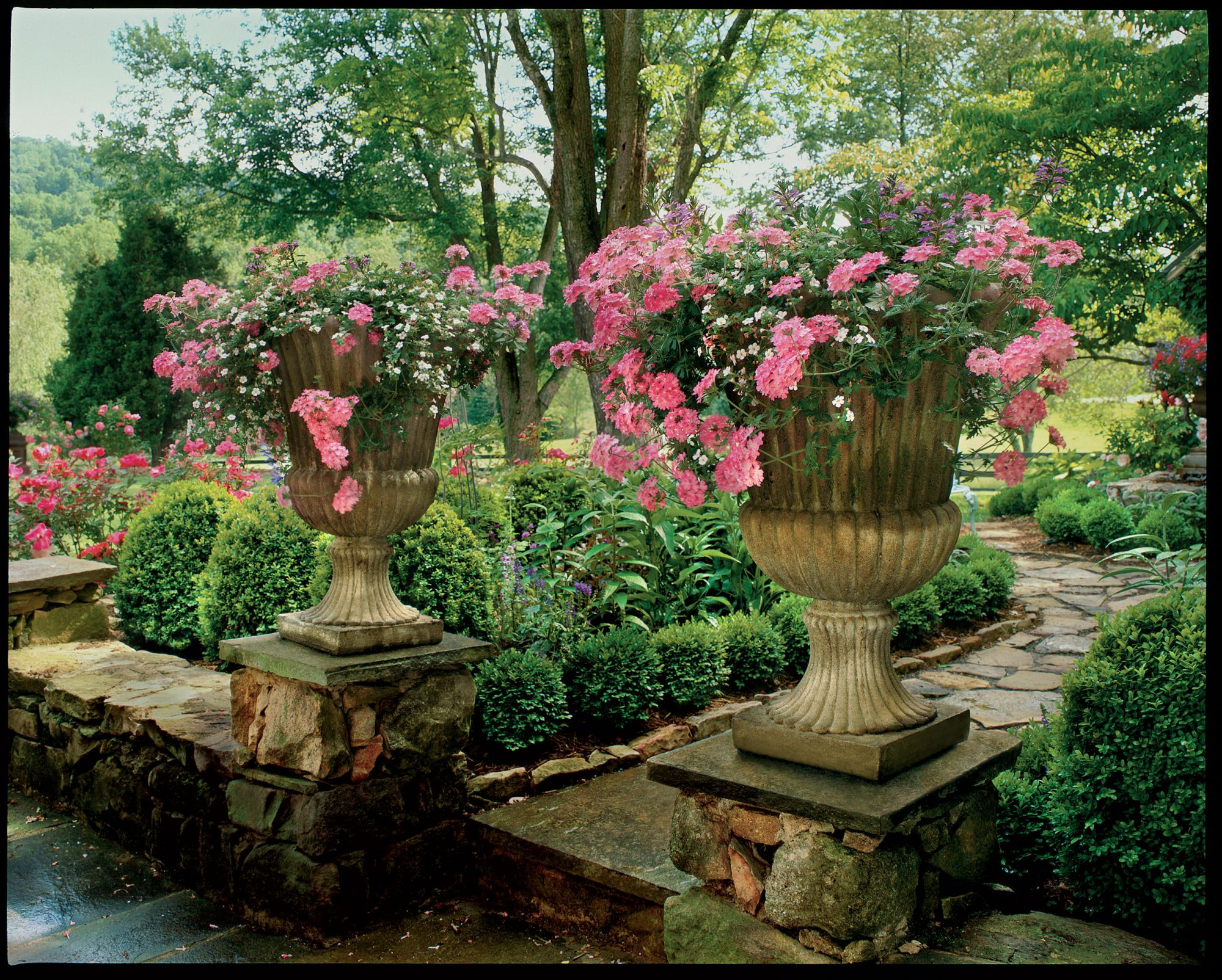 Raised Urns