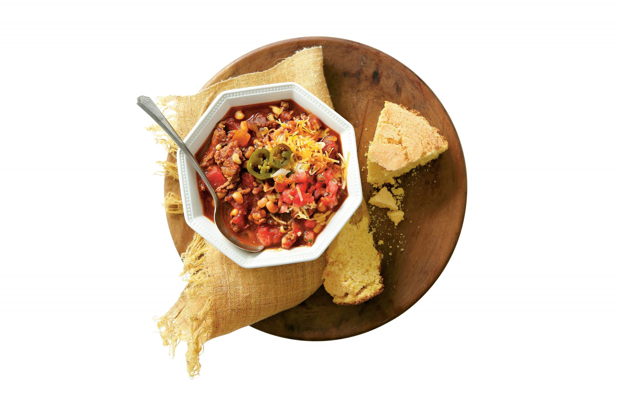 Beef-and-Black-Eyed-Pea Chili