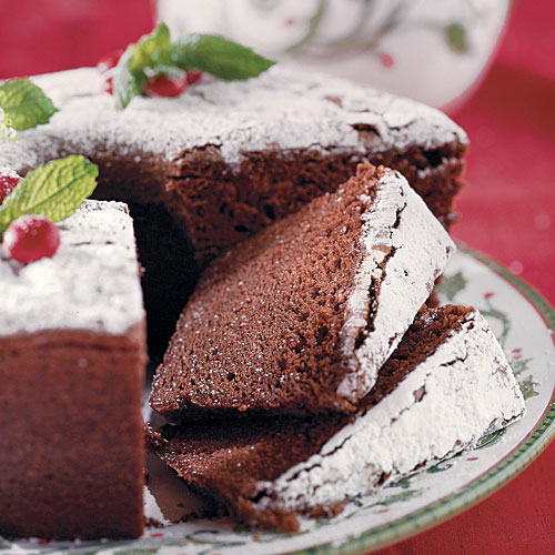 "Chocolate Velvet ""Pound"" Cake"