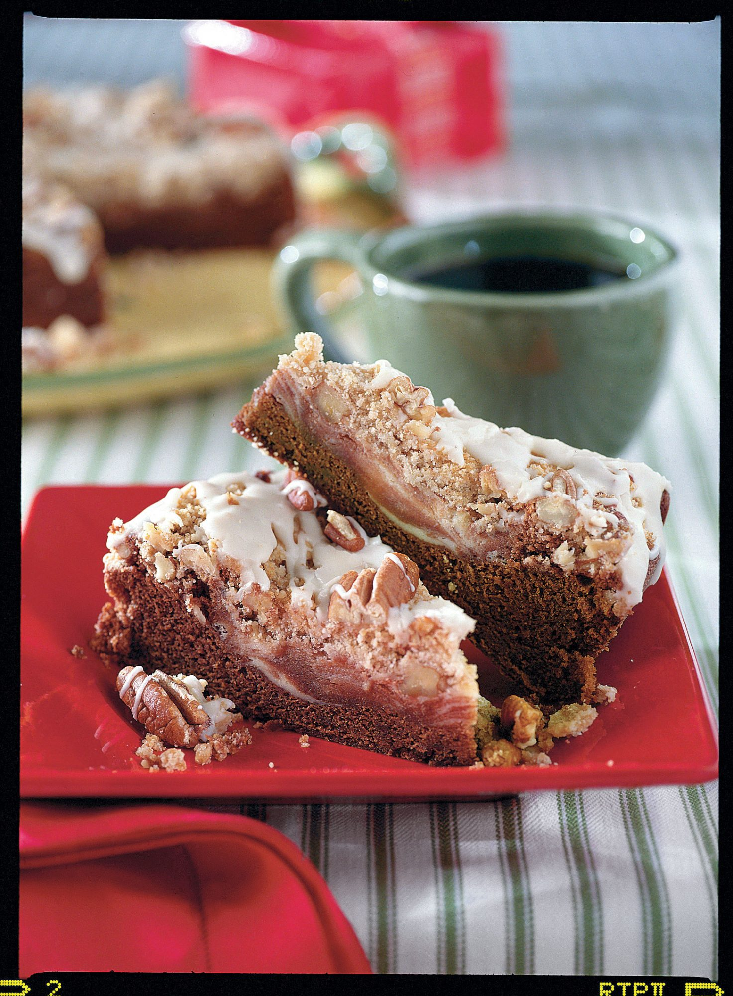 Chocolate-Cream Cheese Coffee Cake