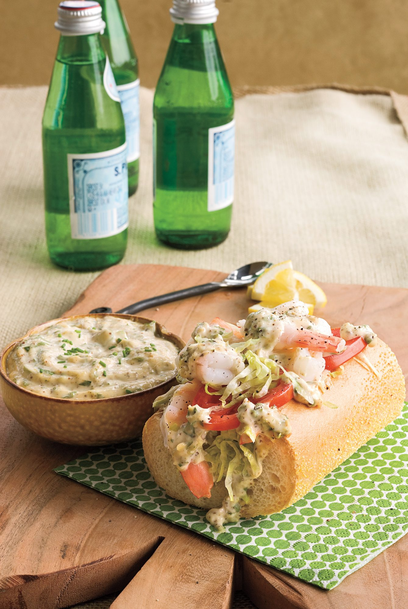 Elephant Ringers with Rolled-Over Remoulade Sauce
