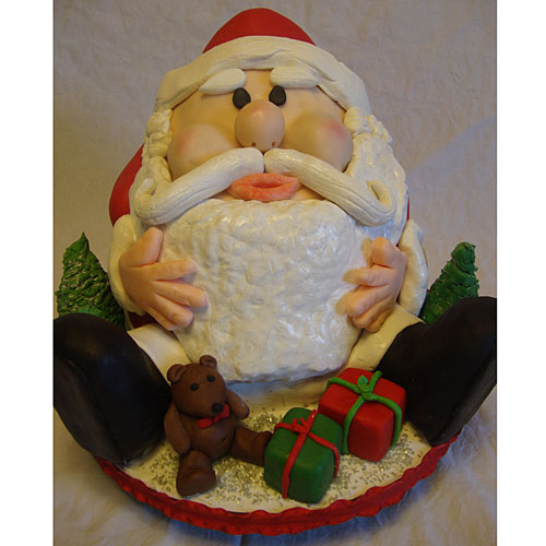 Santa Takes the Cake and Eats It!