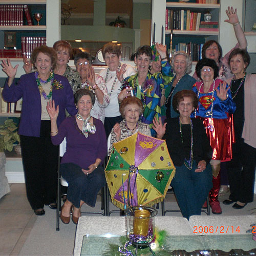 Holy Ghost Rosary Society King Cake Party