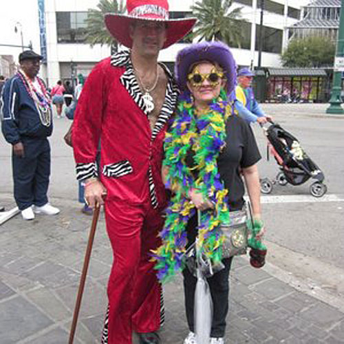 Fat Tuesday on Canal Street