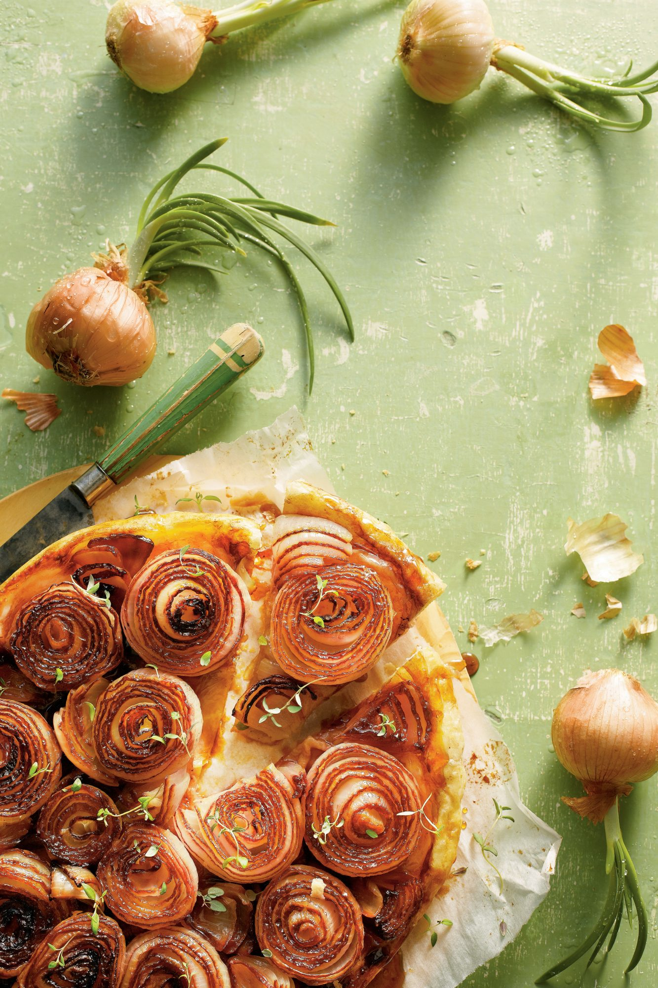 Caramelized Sweet Onion Tarte Tatin