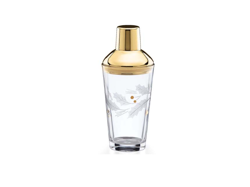 Lenox Holiday Cocktail Shaker in Gold