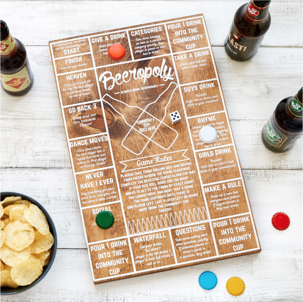 Holiday Hostess Uncommon Goods Beeropoly