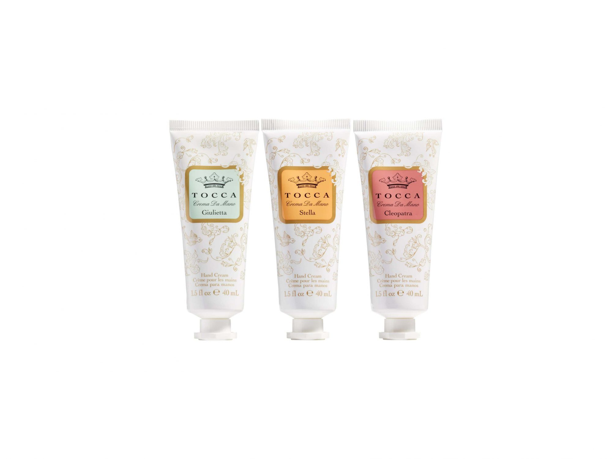 Crema Veloce Travel Lotion Trio