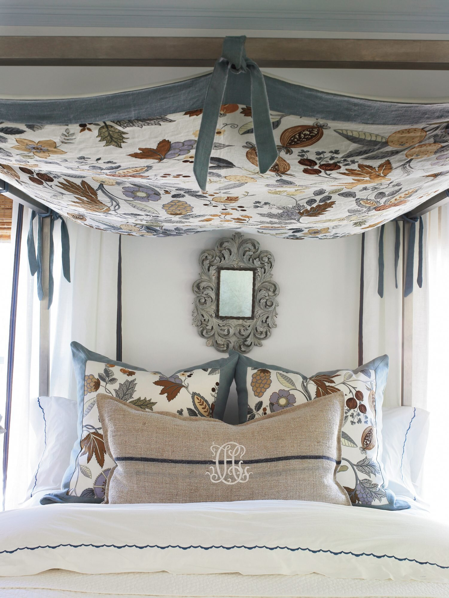 Budget Decorating Ideas: Stretch Your Fabric | Southern Living