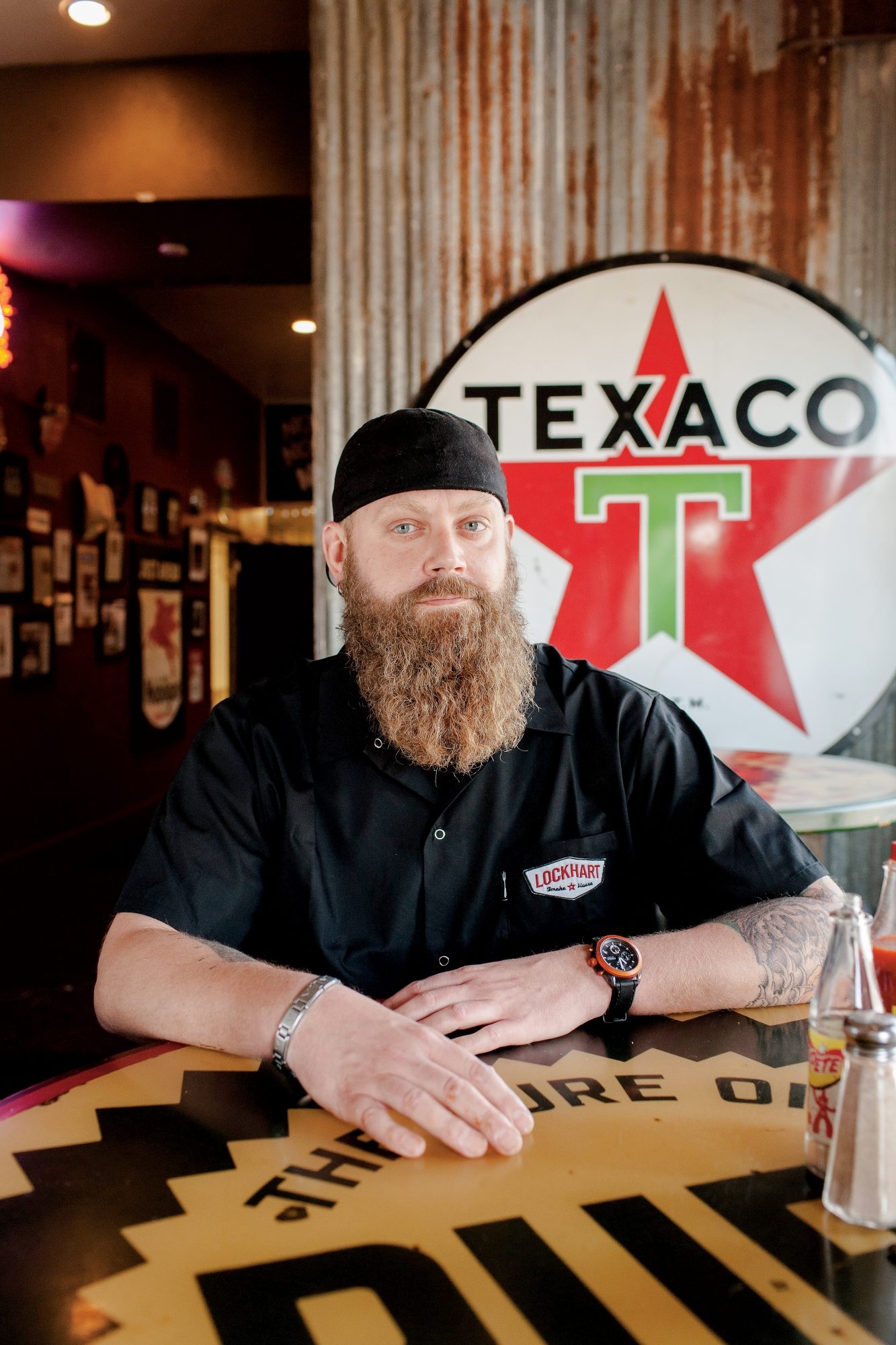 Will Fleischman of Lockhart Smokehouse in Dallas, Texas