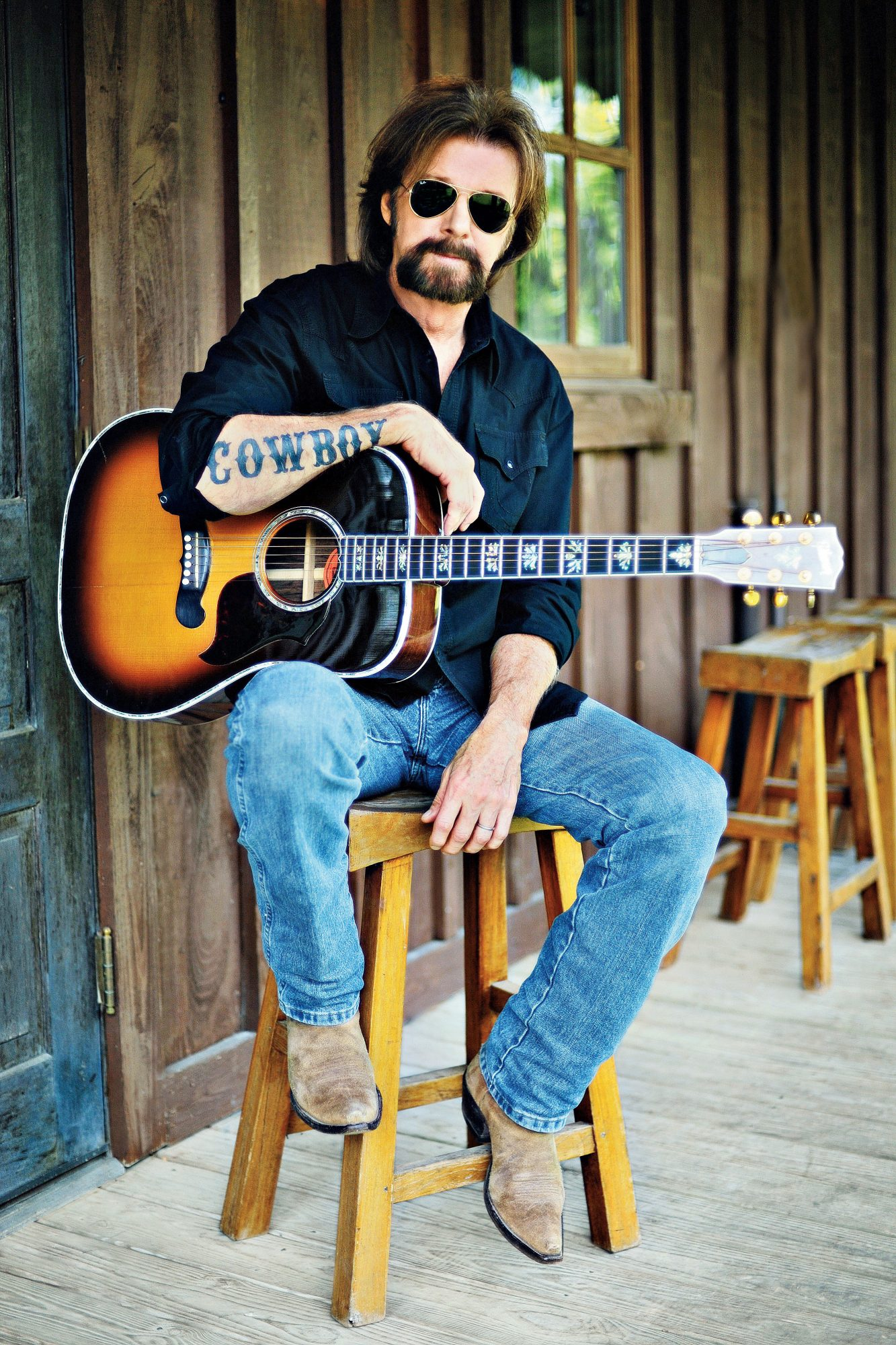 Dishing with Ronnie Dunn